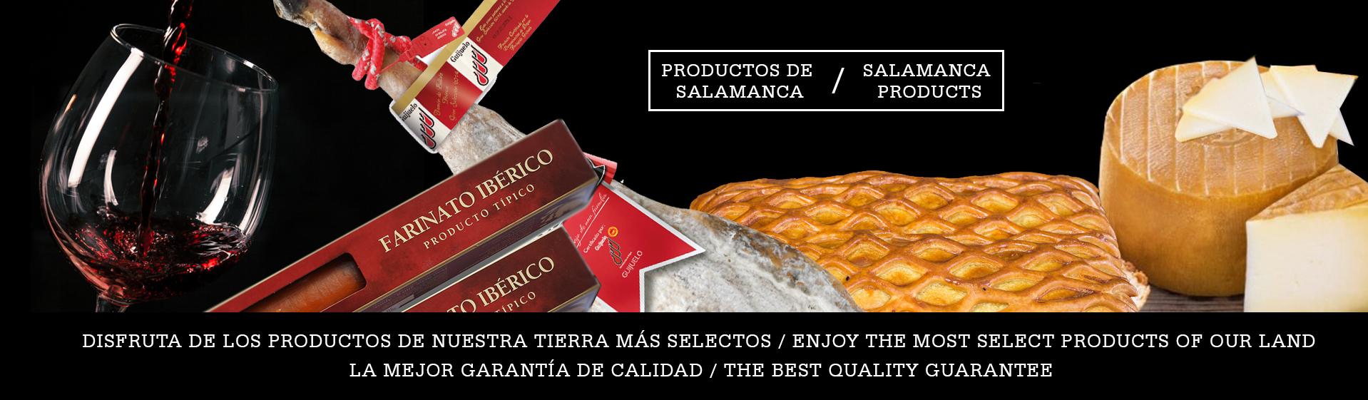 Productos de Salamanca